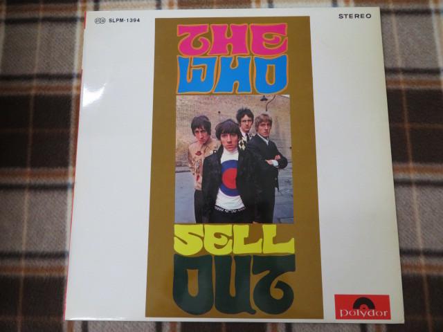 LP/ザ・フー/恋のマジック・アイ/SLPM-1394/The Who/SELL OUT/白レーベル/見本盤/非売品/POLYDOR/ポリドール/アナログレコード_画像2