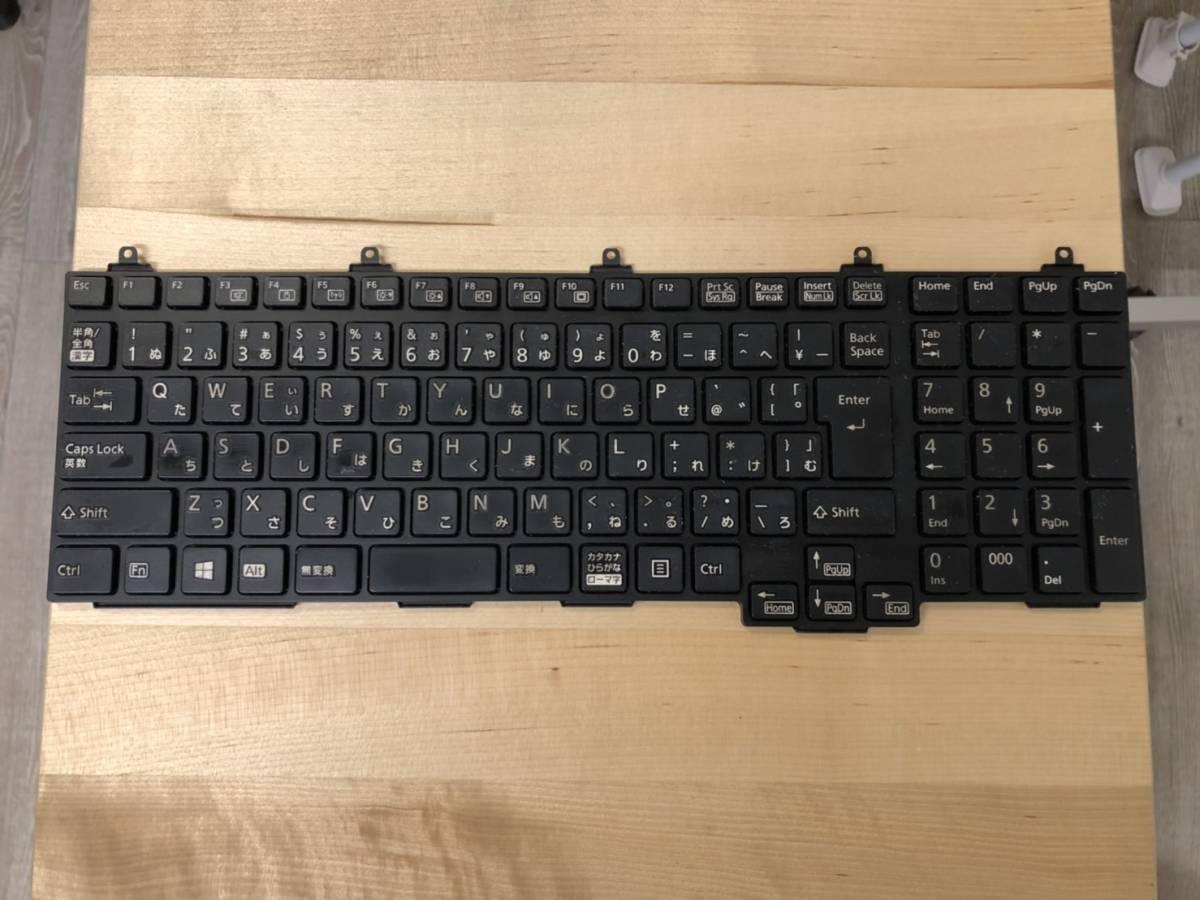 富士通 LIFEBOOK MP-10P30J03D854W 日本語キーボード 黒
