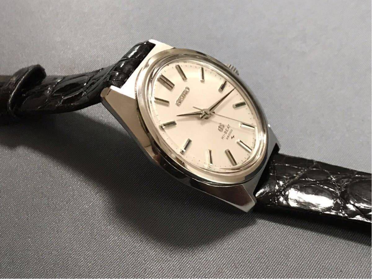 セイコー SEIKO 45GS 1970年 ビンテージ アンティーク 昭和45年 4520-8000 手巻き ノンデイト GS グランドセイコー 手巻き_画像3
