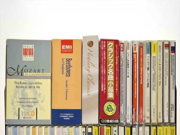 KM88●大量まとめて!!●クラシック&オーケストラ 中古CD 128枚 ベートーヴェン・モーツァルト・ショパン etc... 現状品_画像2