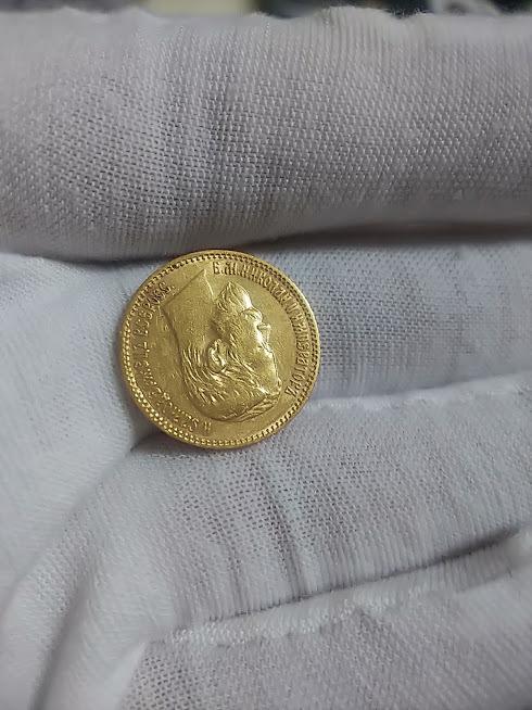 5ルーブル金貨 ニコライ2世 ロシア 1898年 K21.6 ゴールドコイン 金貨_画像7