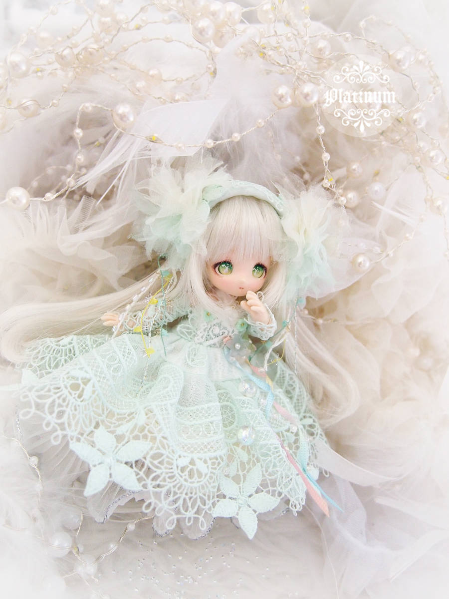 【幻想カラスウリ~夏の夜の夢ドレスセット~●ぷらちなの杜●オビツ11サイズ】