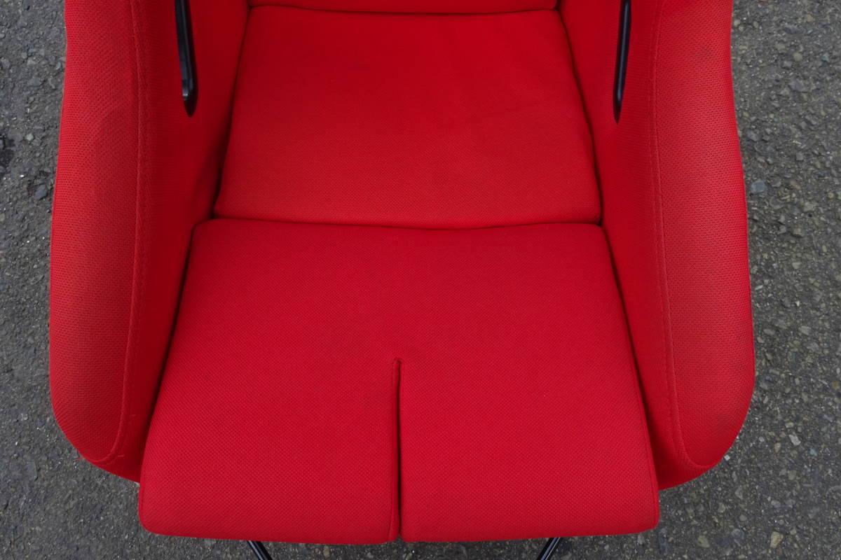 シビック タイプR FD2 ブリットシートレール付き フルバケ 運転席側_画像9