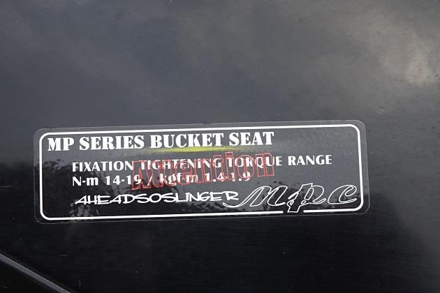 シビック タイプR FD2 ブリットシートレール付き フルバケ 運転席側_画像3