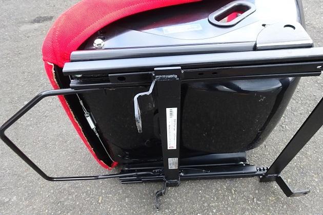 シビック タイプR FD2 ブリットシートレール付き フルバケ 運転席側_画像5