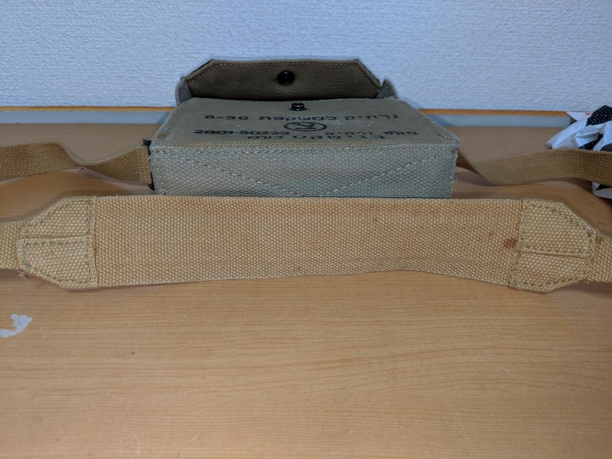 イスラエル軍 ショルダーバッグ 帆布製 中古品 作りは頑丈_画像9