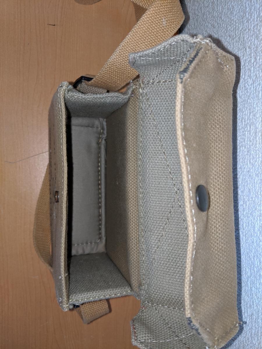 イスラエル軍 ショルダーバッグ 帆布製 中古品 作りは頑丈_画像7