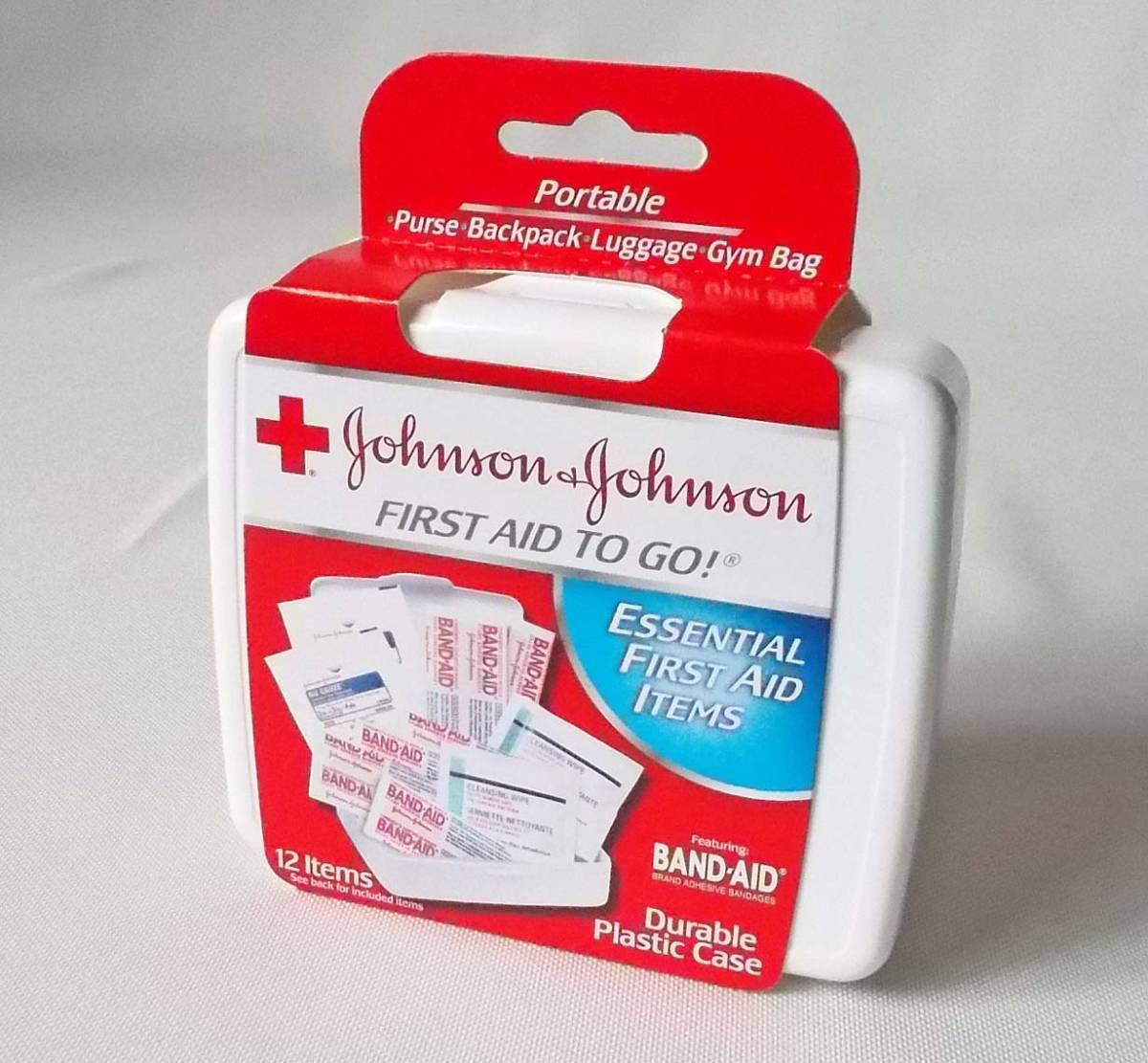ジョンソン&ジョンソン バンドエイド ファーストエイド 携帯救急セット 災害/キャンプ/旅行/ドライブ 送料無料