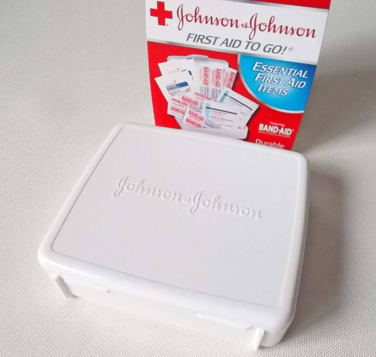 ジョンソン&ジョンソン バンドエイド ファーストエイド 携帯救急セット 災害/キャンプ/旅行/ドライブ 送料無料_画像3