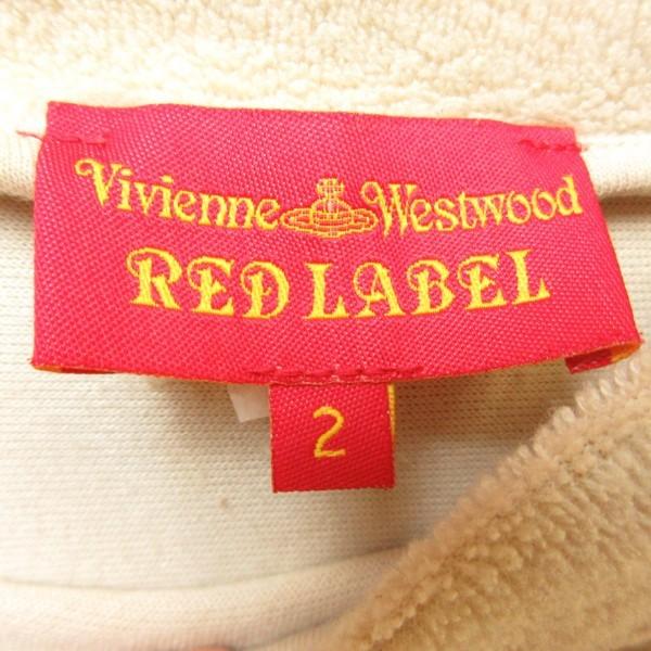 ◎美品!Vivienne Westwood RED LABELヴィヴィアンウエストウッド◆パイルワンピース◆メンズ ベージュ 2/Mサイズ◆A91020_画像7