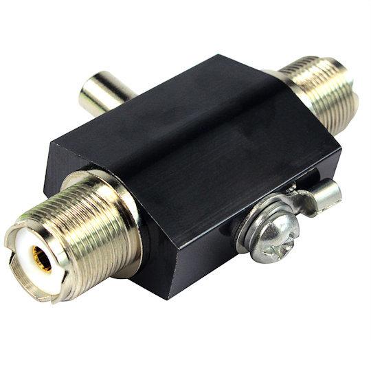 避雷器, ナゴヤ H20, Mメス-Mメス, 同軸サージ・プロテクタ・雷アレスター,200W,HF/VHF/UHF,DC-3000MHz帯_画像3