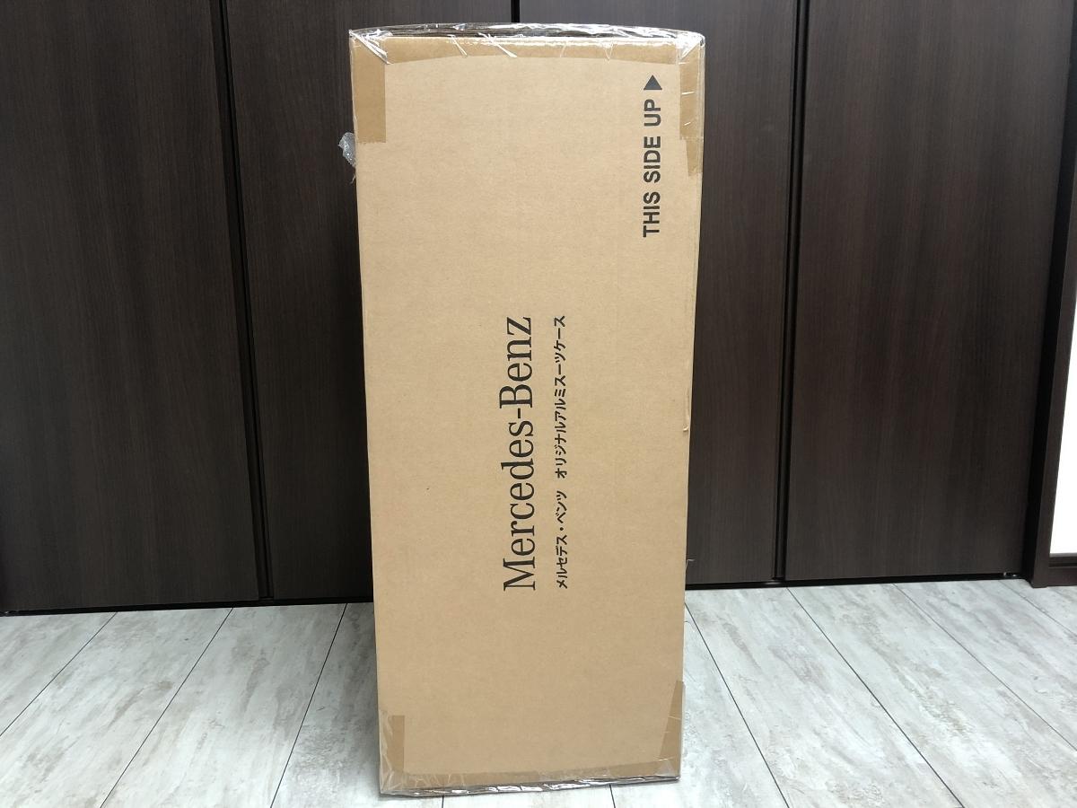 未開封元箱入 メルセデス・ベンツ オリジナル アルミスーツケース_画像2