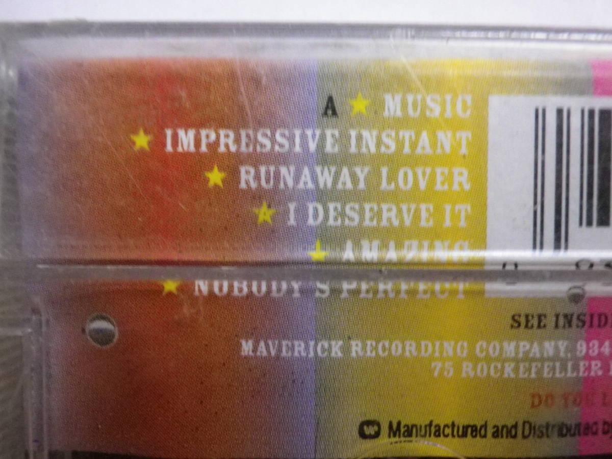 未開封カセットテープ マドンナ MADONNA MUSIC 輸入版 未使用品 同梱可(まとめて取引)_画像8