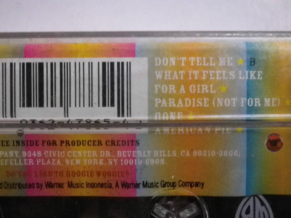 未開封カセットテープ マドンナ MADONNA MUSIC 輸入版 未使用品 同梱可(まとめて取引)_画像9