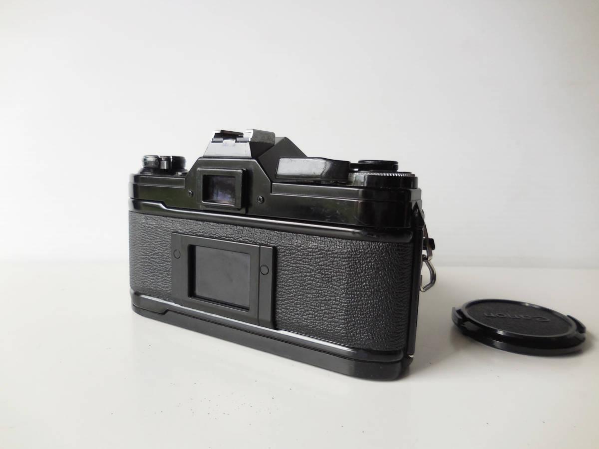 キヤノン CANON AE-1貴重黒ボディ(シャッター鳴き無し)   単焦点レンズ付き_画像4