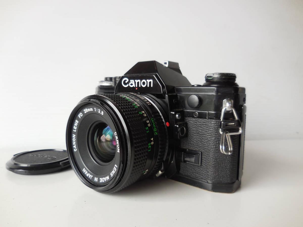 キヤノン CANON AE-1貴重黒ボディ(シャッター鳴き無し)   単焦点レンズ付き_画像9