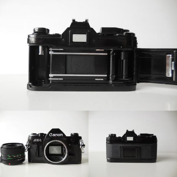 キヤノン CANON AE-1貴重黒ボディ(シャッター鳴き無し)   単焦点レンズ付き_画像5