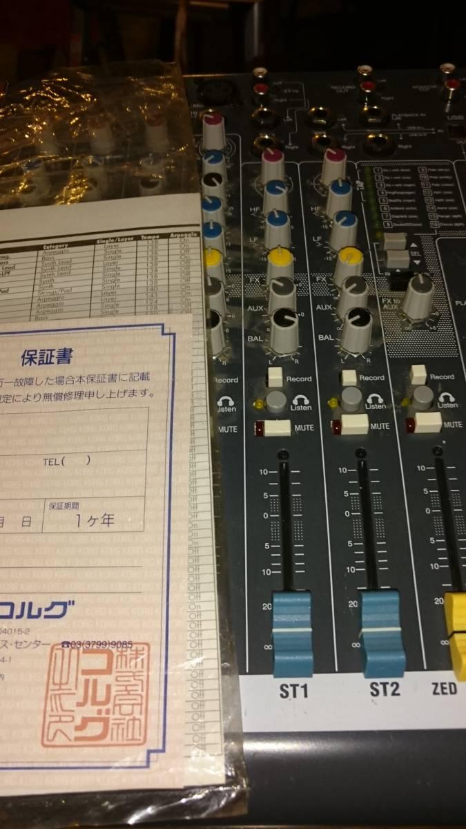 ALLEN&HEATH ZED10FX コルグ保証書付き 1チャンネル難あり_画像3