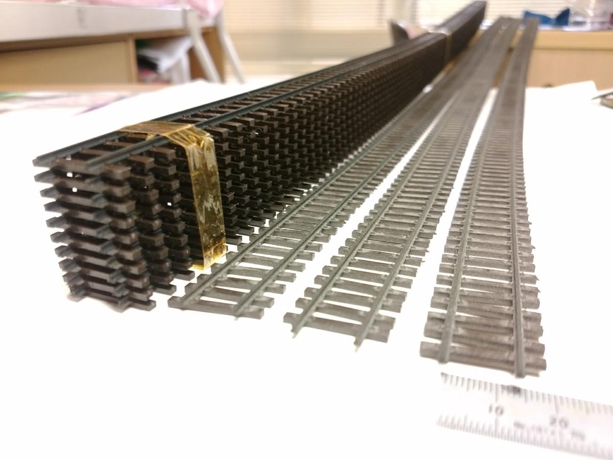 送料無料 HOm 12mm フレキシブルレール13本セット BEMO 純正品が3本とシノハラ製10本 メーターゲージ FO BVZ JB SBB MOB RhB