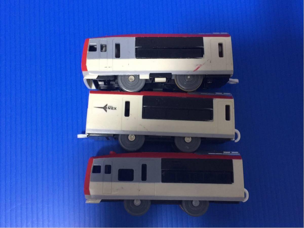 YS329B プラレール 大量 同梱可能 レイアウト 車両 成田エクスプレス 旧車両_画像5
