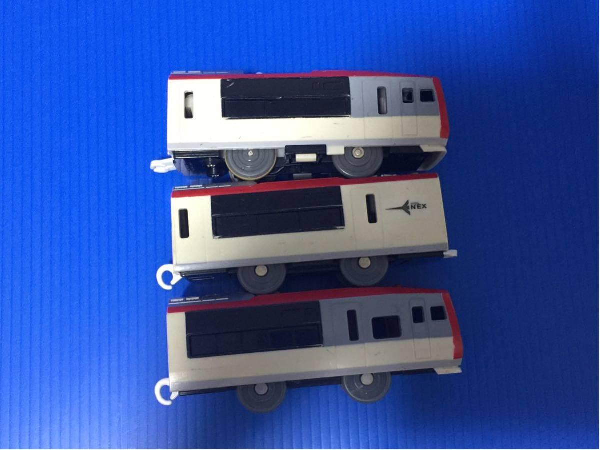 YS329B プラレール 大量 同梱可能 レイアウト 車両 成田エクスプレス 旧車両_画像6