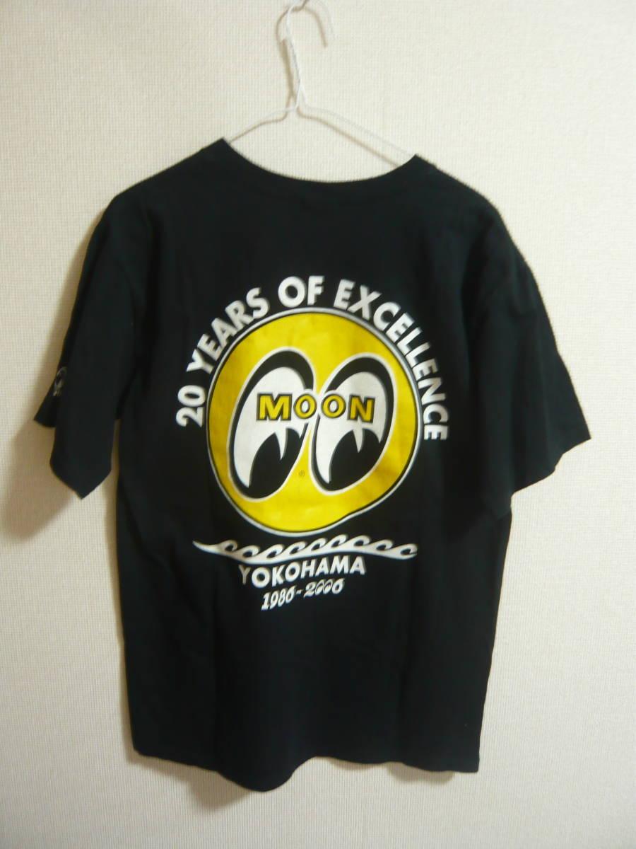 送料込み★MOON EYES ムーンアイズ 20YEARS OF EXCELLENCE Tシャツ M HOTROD ホットロッドMOONEYES/アメ車_画像2