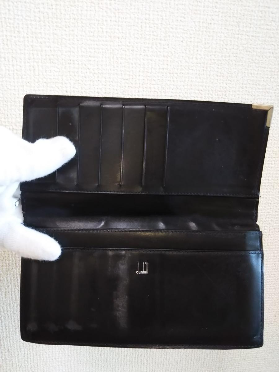 ★本物★レザー★1円★ダンヒル★財布★dunhill★_画像3