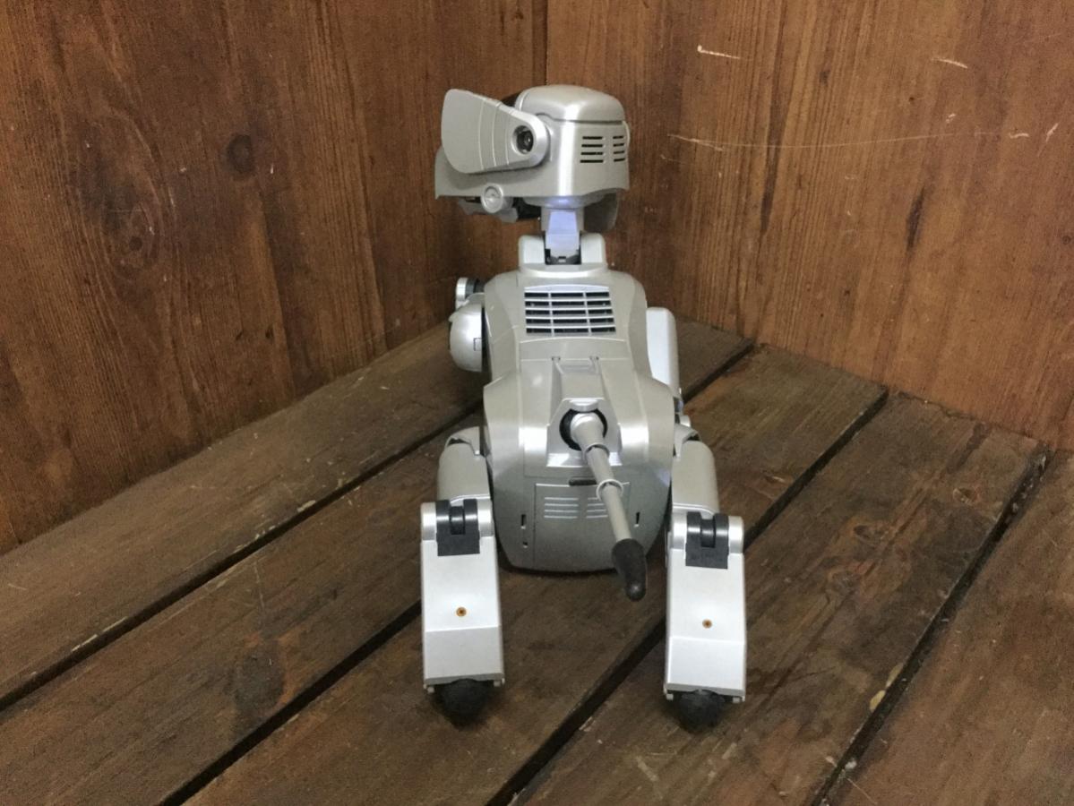 ☆ SONY ソニー ESR-111 AIBO アイボ ロボット バーチャルペット シルバー 初代 犬型 ジャンク ☆_画像3