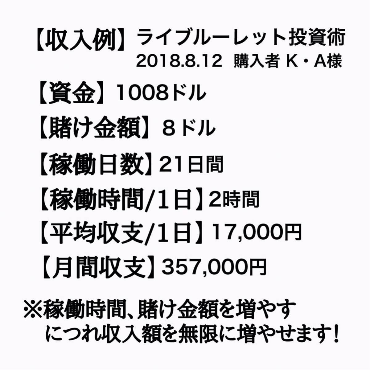 《先着3名様限定》通常価格¥90,000円⇒先着限定価格¥6,980円 完全オリジナル極秘投資術セット 攻略法 仮想通貨 FX 投資 カジノ 副業 0_画像4