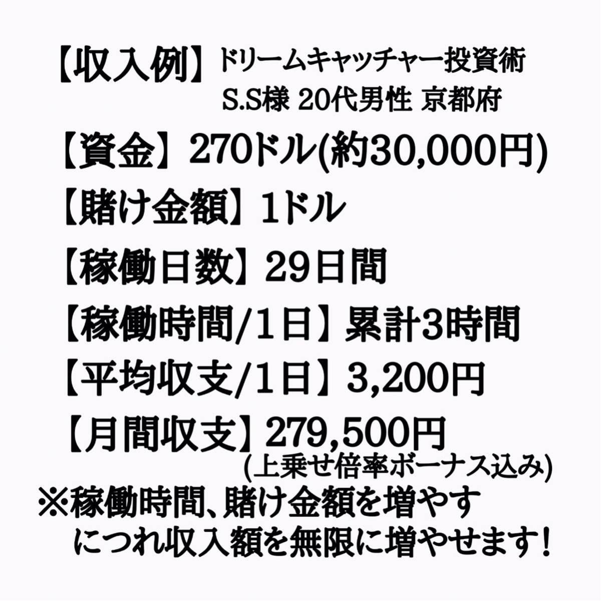 《先着3名様限定》通常価格¥90,000円⇒先着限定価格¥6,980円 完全オリジナル極秘投資術セット 攻略法 仮想通貨 FX 投資 カジノ 副業 0_画像9