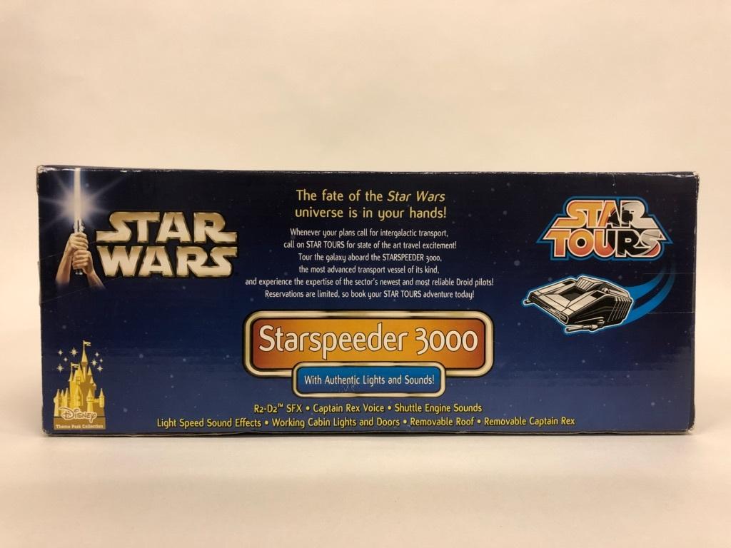 未開封品 STAR WARS Star Tours スターツアーズ Starspeeder 3000 スターウォーズ アメリカ ディズニーランド_画像3