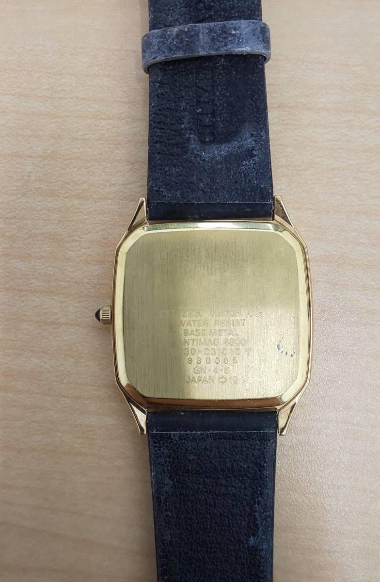 【5008】レディース 腕時計 ジャンク / ANTIMAG4800 citizen EXCEED / u.p renoma レノマ クオーツ / leonard レオナール_画像3