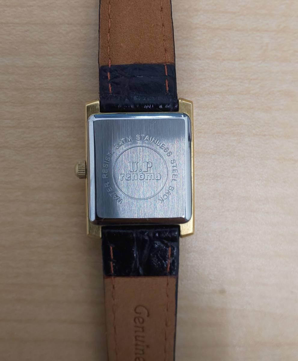 【5008】レディース 腕時計 ジャンク / ANTIMAG4800 citizen EXCEED / u.p renoma レノマ クオーツ / leonard レオナール_画像5