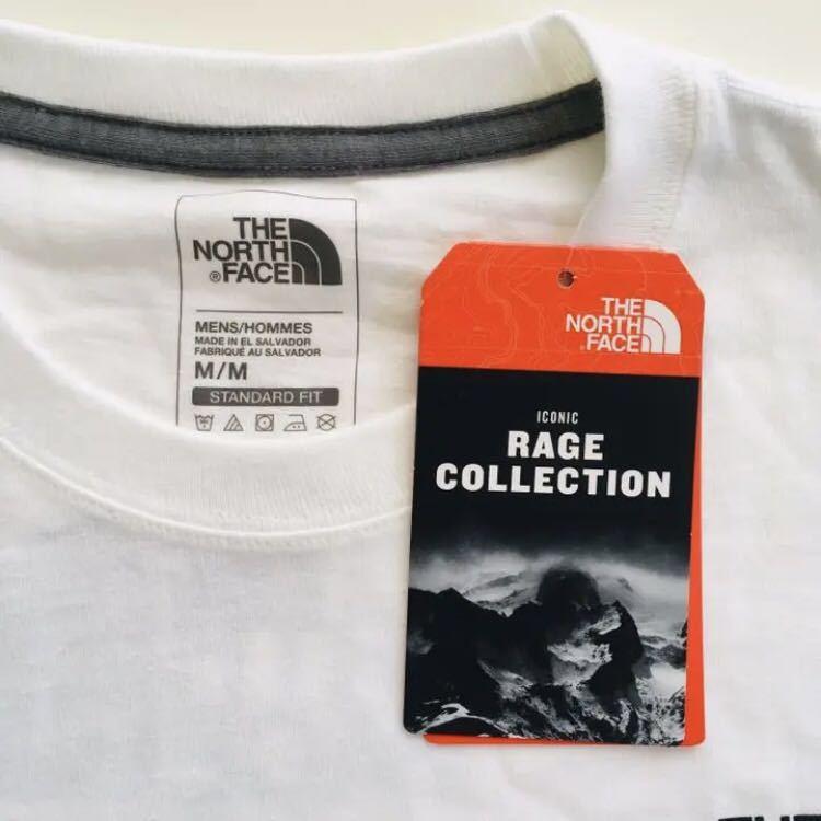 日本未発売 US買付 M ノースフェイス RAGE レイジ Tシャツ 新品 海外限定 半袖Tシャツ THE NORTH FACE メンズ レディース 正規品_画像3