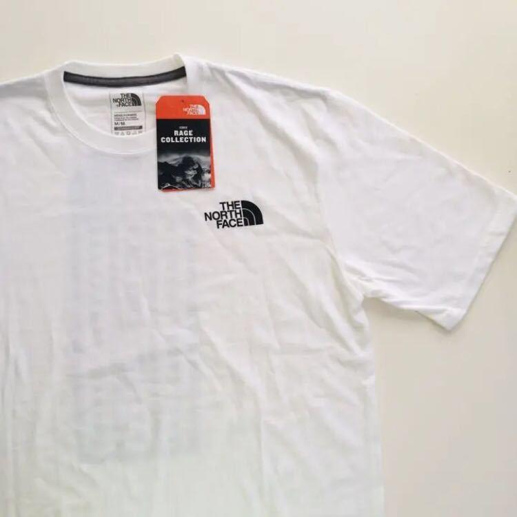 日本未発売 US買付 M ノースフェイス RAGE レイジ Tシャツ 新品 海外限定 半袖Tシャツ THE NORTH FACE メンズ レディース 正規品_画像2