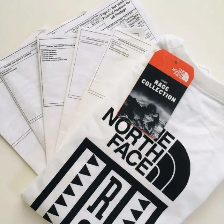 日本未発売 US買付 M ノースフェイス RAGE レイジ Tシャツ 新品 海外限定 半袖Tシャツ THE NORTH FACE メンズ レディース 正規品_画像4