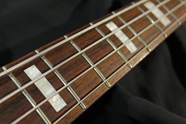 【Fender Japan】JB62 FCH/SLV Jazz Bass(シルバーラメ塗装/BABICZブリッジ/ブロックポジション)30本限定生産レアモデル 日本製 準美品_画像7