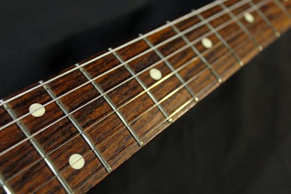 【Fender Japan】STG-65(MBR)Stratocaster(マットブラウン・マッチングヘッド/ゴールドパーツ)フジゲン 日本製 ジャンク_画像7