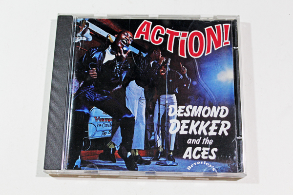 【DESMOND DEKKER and the ACES】デスモンド・デッカー『ACTION!』輸入盤 USED