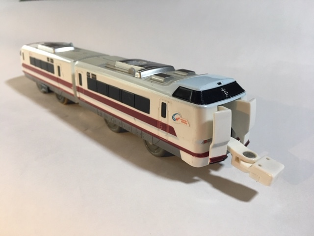 ☆プラレール 681系 スノーラビット はくたか 連結仕様_画像2