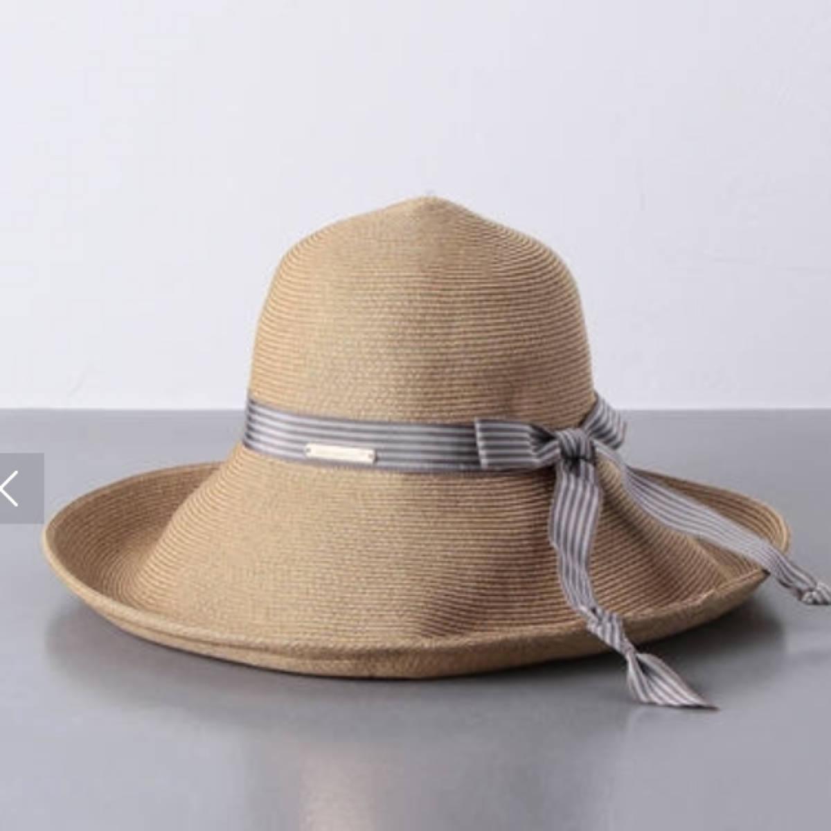 アシーナニューヨーク リボン帽子 人気 新品未使用
