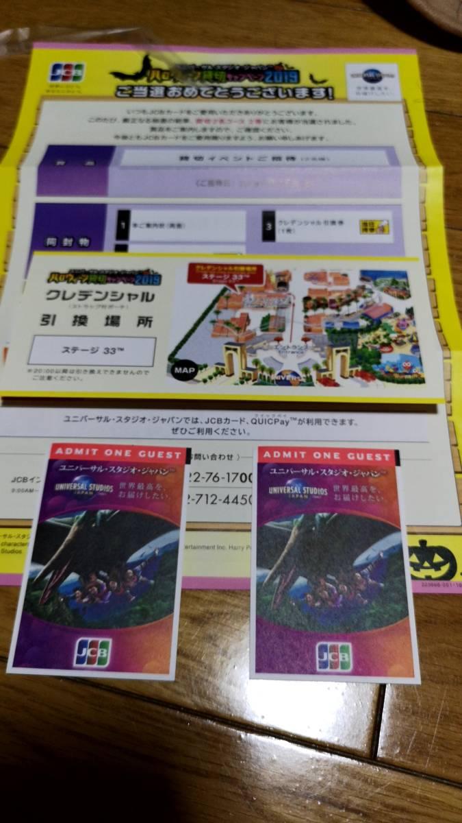 ユニバーサルスタジオジャパン 貸切チケット大人2枚セット