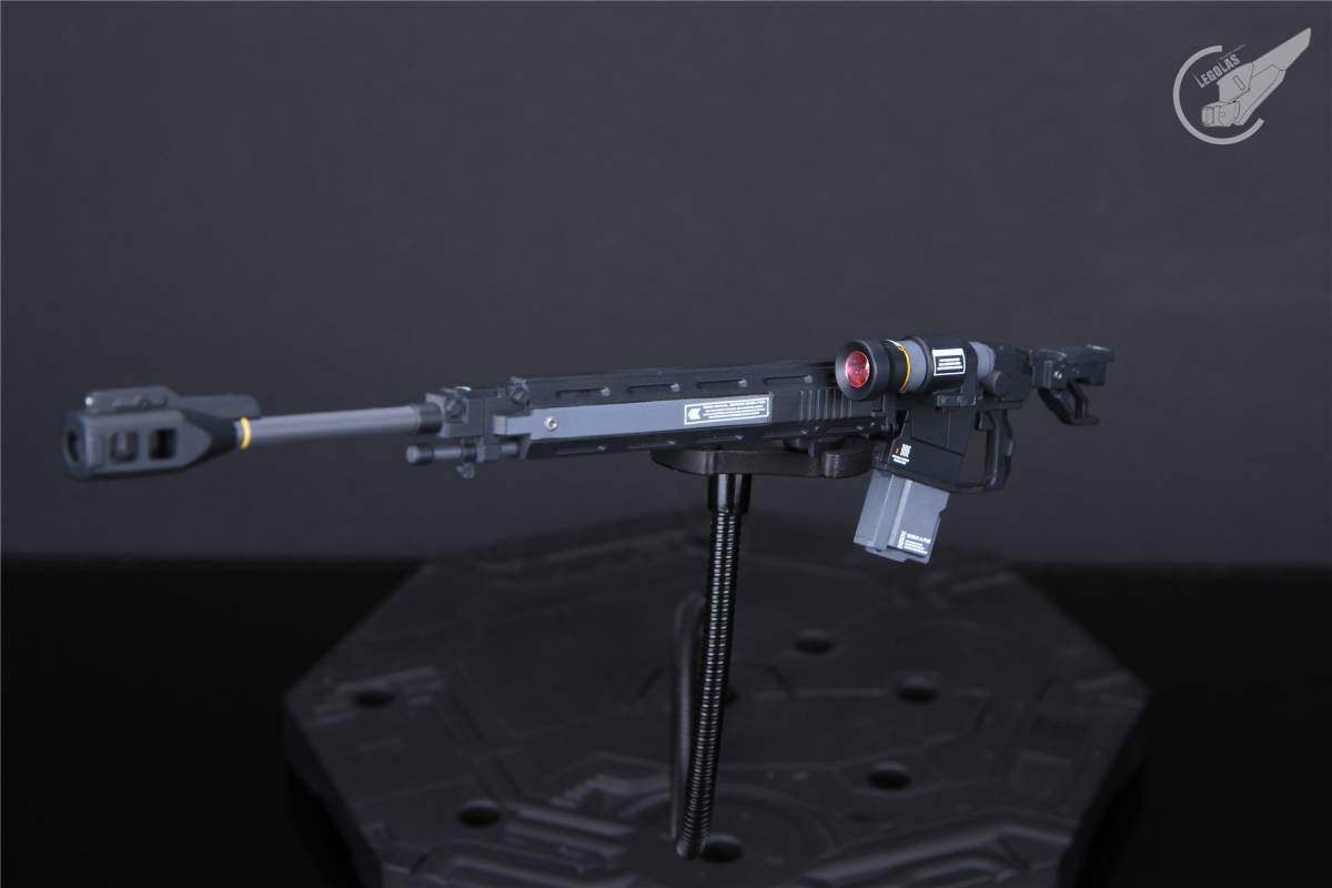 HG 1/144 MS-05B「ザクI」黒い三連星 改修塗装済み完成品 _画像8