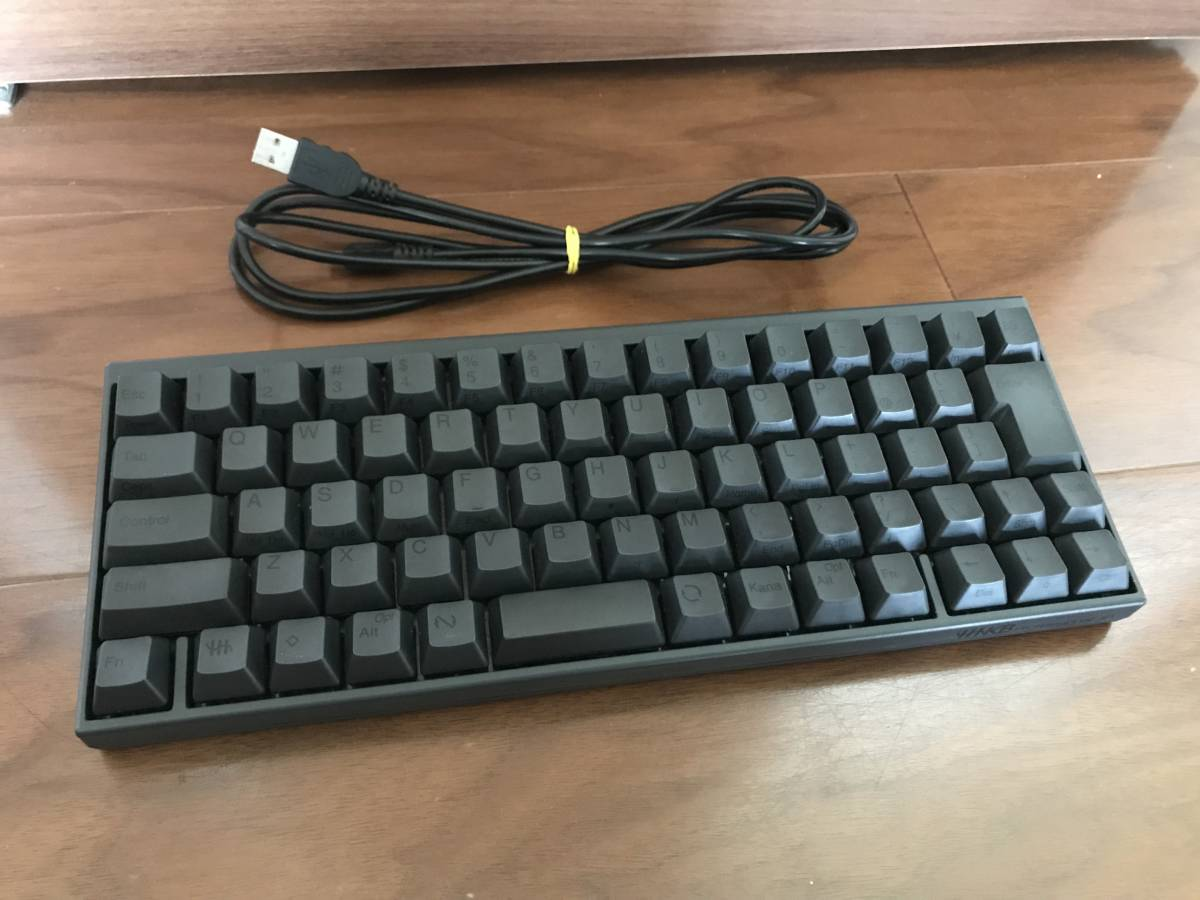 美品 PFU HHKB Happy Hacking Keyboard Pro JP PD-KB420B ブラック