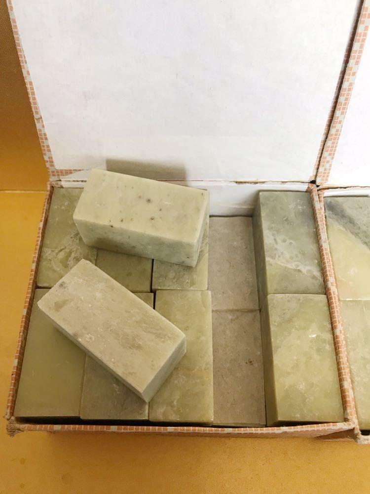 短い天然石 石材 石 印象 判子 彫刻 工芸品 まとめて_画像5