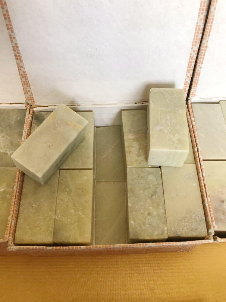 短い天然石 石材 石 印象 判子 彫刻 工芸品 まとめて_画像6