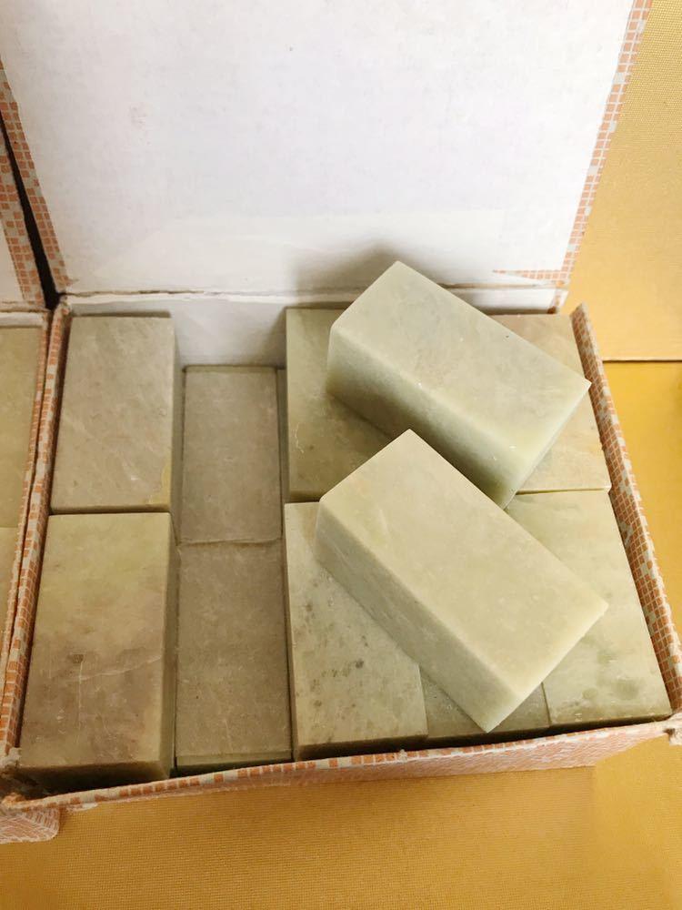 短い天然石 石材 石 印象 判子 彫刻 工芸品 まとめて_画像7