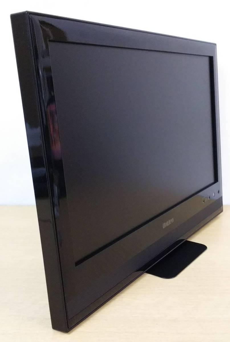1000円値下げ! 12年製Uniden ユニデン 19型地上・BS・110度CSデジタルハイビジョンLEDテレビ TL19DX3 オリジナルスタンド付脚無 中古 9台有_画像2