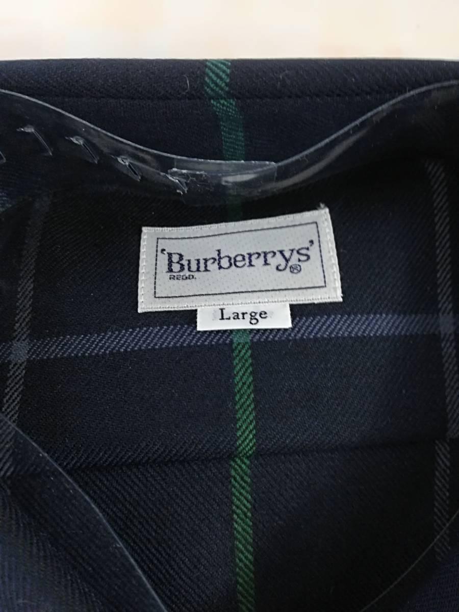 S8-244 Burberry's◆新品未着用ワイシャツ◆秋冬◆ホースマーク◆_画像3