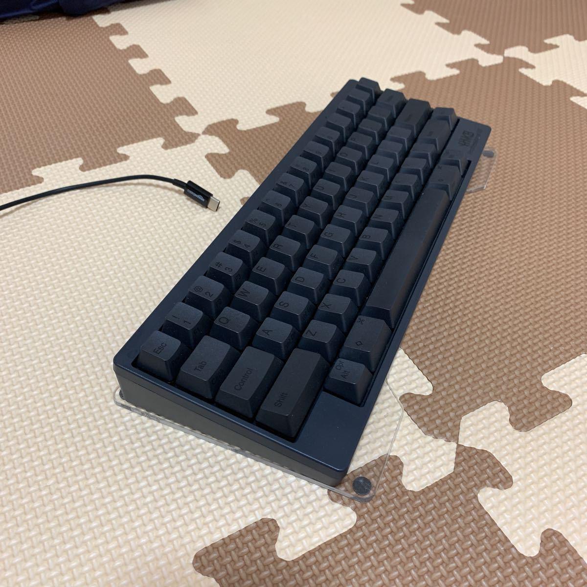 【中古美品】HHKB Professional BT PD-KB600B 墨 英語配列モデル かな無刻印 USキーボード おまけキーボードブリッジ_画像5